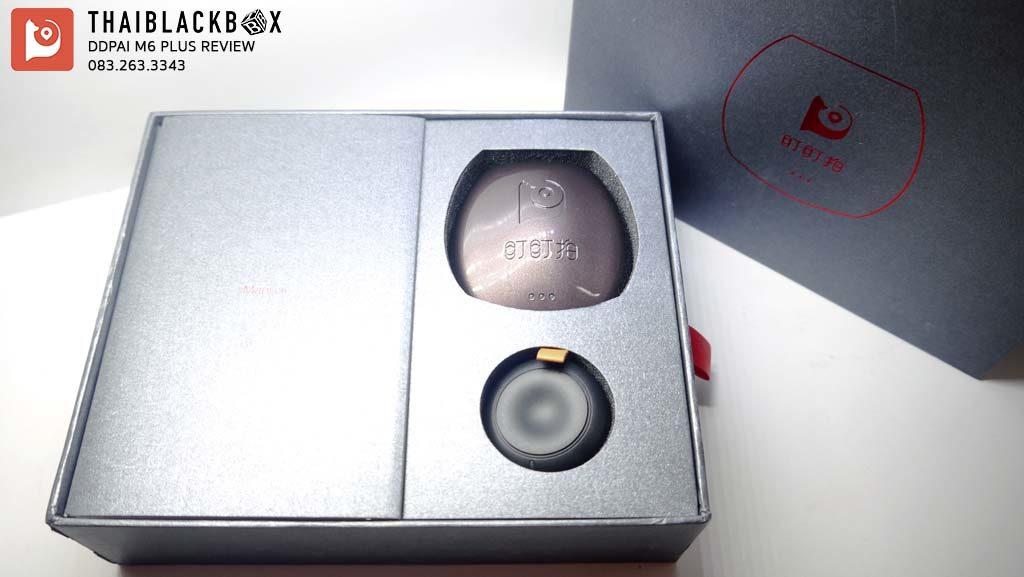 DDPai m6 plus review กล้องติดรถ มี WiFi GPS
