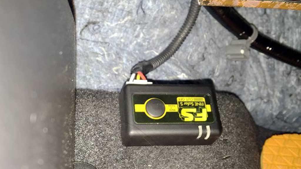 Fine Safer S Cut Off อุปกรณ์วัดแรงดันแบตเตอรี่รถยนต์