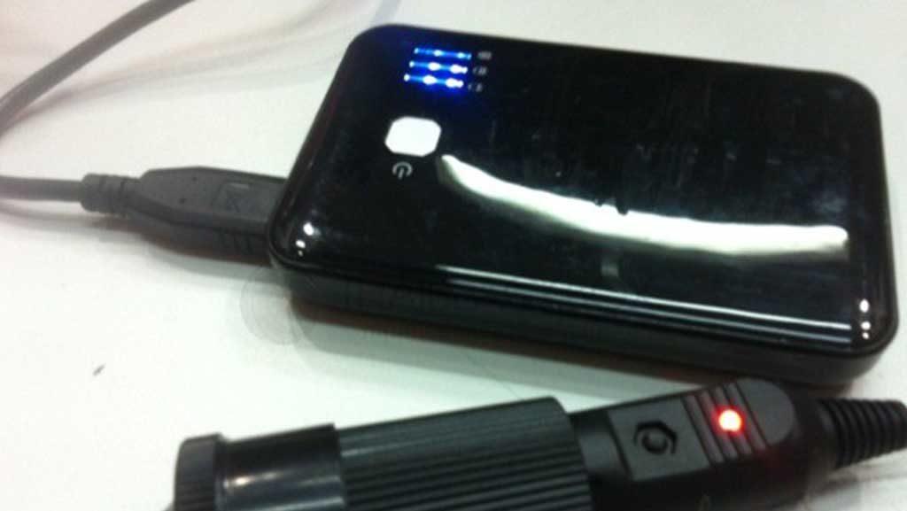 การดัดแปลง Power Bank เพื่อมาใช้กับ กล้องติดรถยนต์ บางรุ่น