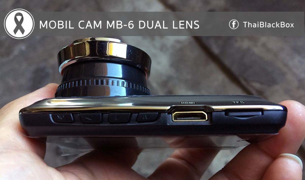 ปุ่มกดด้านล่าง พร้อมช่อง HDMI และ Micro SD Card